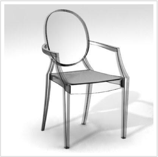 Louis Ghost di Philippe Starck by Kartell