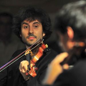 """Secondo violino del Quartetto Alinde, vincitore del secondo premio al Concorso internazionale di musica da camera """"Salieri-Zinetti"""""""